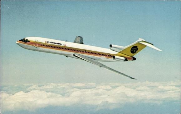 Ak Passagierflugzeug, Continental Airlines, Boeing 727 Trijet