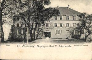 Ak Obernai Oberehnheim Elsass Bas Rhin, St. Odilienberg, Eingang, Mont Sainte Odile