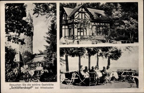 Tischler Wiesbaden ak wiesbaden in hessen ansichten der gaststätte schläferskopf inh