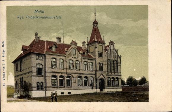 Ak Melle in Niedersachsen, Königliche Präparandenanstalt