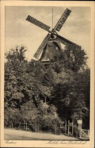 Ak Eutin in Ostholstein, Blick zur Mühle beim Bahnhof
