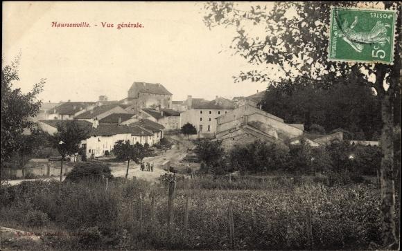 Ak Haussonville Lothringen Meurthe et Moselle, Vue générale, Panorama vom Ort