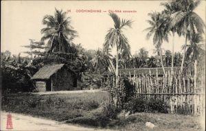 Ak Cochinchine Vietnam, Cai Nha annamite
