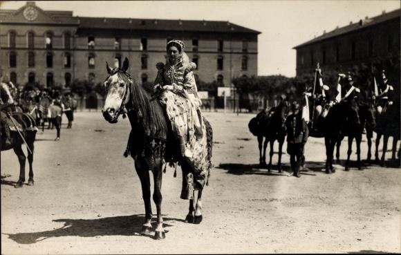Ak Torino Turin Piemonte, Carosello storico, Historisches Kostümfest ...