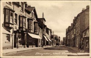 Ak Rhayader Wales, West Street, Street view