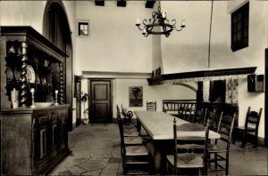 Ak Nienberge Münster in Westfalen, Innenansicht vom Haus Rüschhaus, Inh. Annette Droste Hüshoff