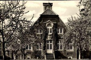 Ak Nienberge Münster in Westfalen, Vorderansicht vom Haus Rüschhaus, Inh. Annette Droste Hüshoff
