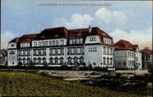 Ak Ludwigshafen am Rhein Rheinland Pfalz, Blick auf die Schillerschule