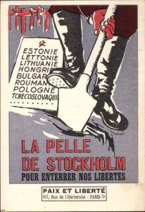 Ak La Pelle de Stockholm, Contre l'armement nucléaire, Anti Sowjetunion, Anti Atomwaffen