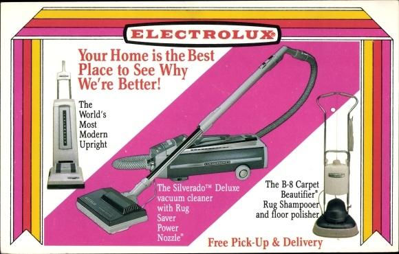 Ak Electrolux Staubsauger, Vacuum, Silverado Deluxe, B 8 Carpet Beautifier