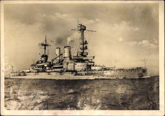 Ak Linienschiff Schlesien, Deutsches Kriegsschiff, Kaiserliche Marine