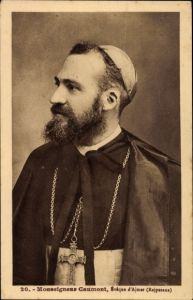 Ak Indien, Monseigneur Caumont, Eveque d'Ajmer, Rajputana, Bischof