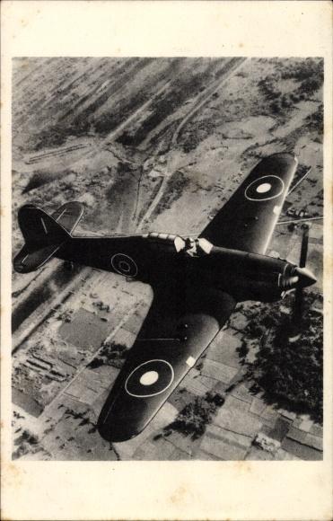 Ak Militärflugzeug, Hawker Huricane jachtvliegtuig