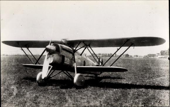 Ak Italienisches Militärflugzeug, Fiat C R 32, Jagdflugzeug