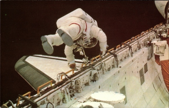 Ak Astronaut F. Story Musgrave, Challenger Space Shuttle, April 7 1983, NASA