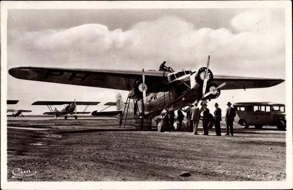 Ak Istres Aviation, Avion Fokker, Ligne Hollande Java, Passagierflugzeug