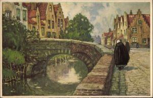 Künstler Ak Cassiers, Henri, Bruges Brügge Flandern Westflandern,