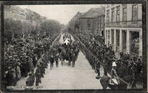 Ak København Kopenhagen Dänemark, Begräbnis für König Friedrich VIII. von Dänemark