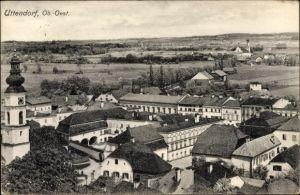 Ak Uttendorf in Oberösterreich, Blick auf Ortschaft und Umgebung