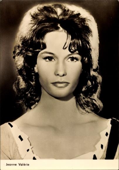 Ak Schauspielerin Jeanne Valérie, Julia du bist zauberhaft, Mandrin, Portrait