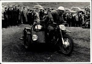 Foto Sidecar Racing, Motorrad mit Beiwagen, Nr 265