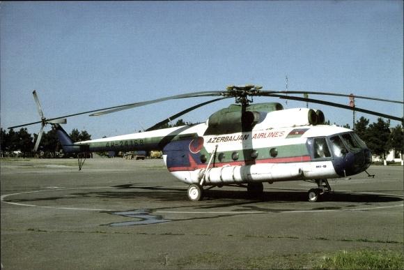 Ak Azerbaijan Airlines, Hubschrauber, Mil Mi 8, 4K-24168, Heliport