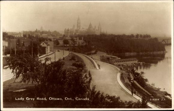 Ak Ottawa Ontario Kanada, Lady Grey Road, Ketchum Boat Co.