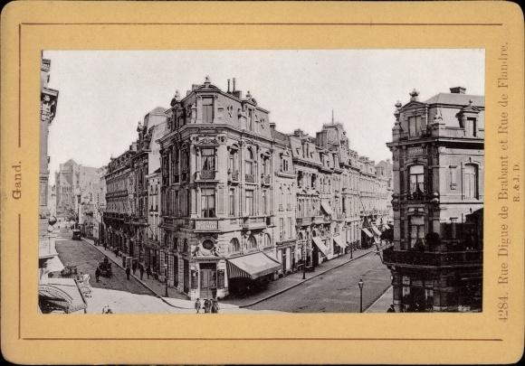 Foto Gent Ostflandern, Rue Digue de Brabant et Rue de Flandre