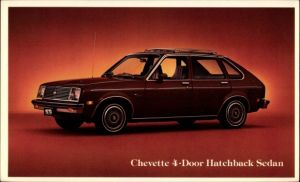 Ak Chevrolet, Chevett 4 Door Hatchback Sedan, Auto, 1979