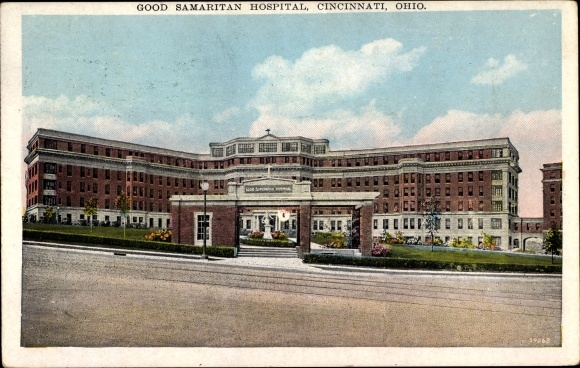 Ak Cincinnati Ohio USA, Good Samaritan Hospital, Krankenhaus, Eingangstor