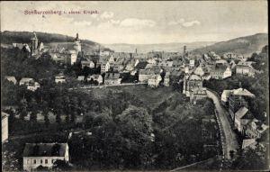 Ak Schwarzenberg im Erzgebirge Sachsen, Gesamtansicht des Ortes