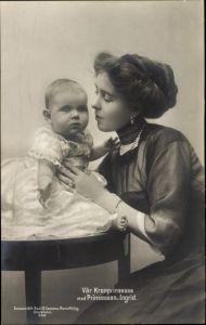 Ak Kronprinzessin von Schweden, Margaret of Connaught, Prinzessin Ingrid