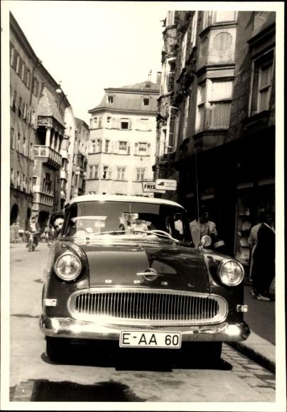 Foto Opel Automobil, Kennzeichen E-AA 60