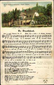 Lied Ak Günther, Anton, Da Draakschänk, Erzgebirgische Mundart Nr 25, Dreckschänke Breitenbach