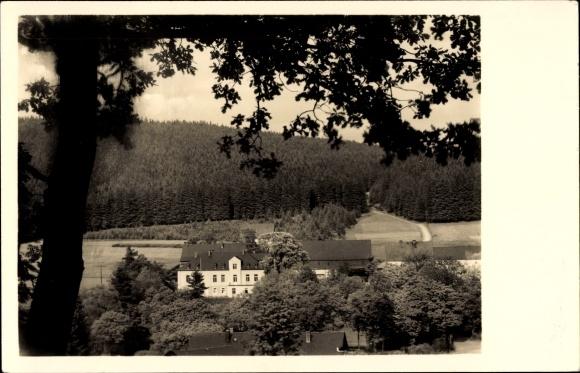 Kübler Und Niethammer ak breitenbrunn im erzgebirge, herrenhaus breitenhof, bes. kübler