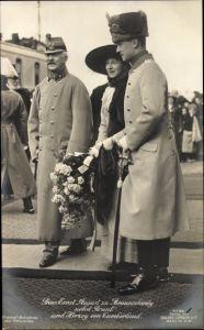 Ak Herzog Ernst August von Braunschweig, Herzog von Cumberland, Prinzessin Victoria Luise