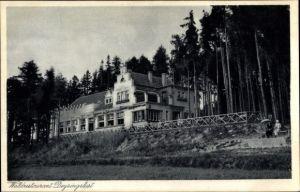 Ak Tabarz im Thüringer Wald, Blick auf das Waldrestaurant Deysingslust