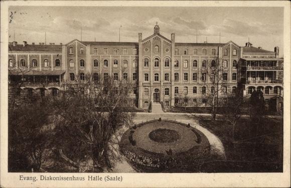Ak Halle an der Saale, Evangelisches Diakonissenhaus