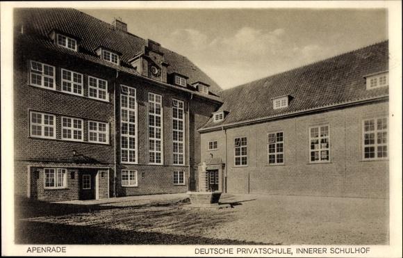 Ak Aabenraa Apenrade Danemark Barsmarkstrand Haus Nr 1040784