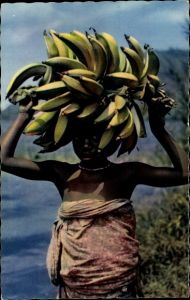 Ak Petite marchande de bananes, Bananenverkäuferin