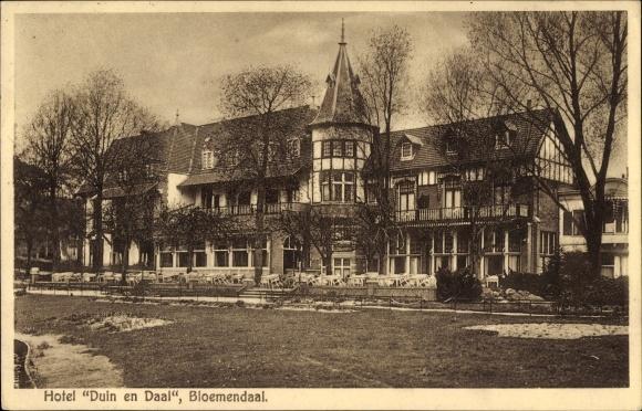 Ak Bloemendaal Nordholland Niederlande, Hotel Duin en Daal