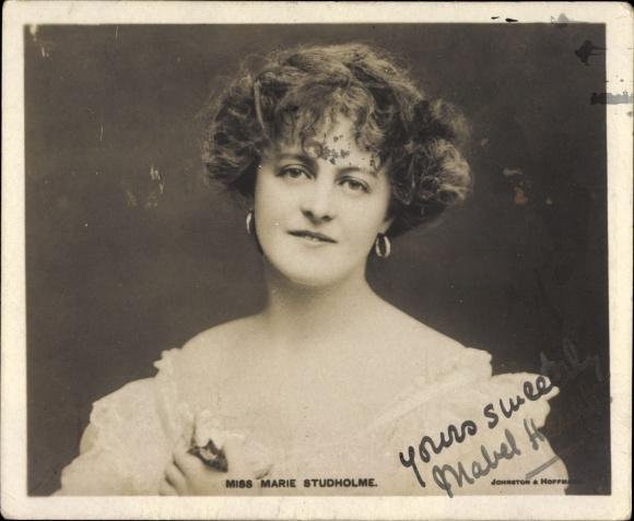 Mini Ak Schauspielerin Marie Studholme, Portrait