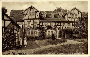Ak Neitersen Wiedbachtal Rheinland Pfalz, Privatpension Hassel