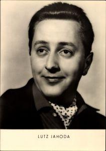 Ak Schauspieler Lutz Jahoda, Portrait