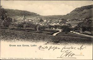Ak Saint-Julien-lès-Gorze Lothringen Meurthe et Moselle, Ortschaft mit Landschaftsblick
