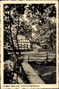Ak Schledehausen Bissendorf in Niedersachsen, Gasthaus Schelenberg