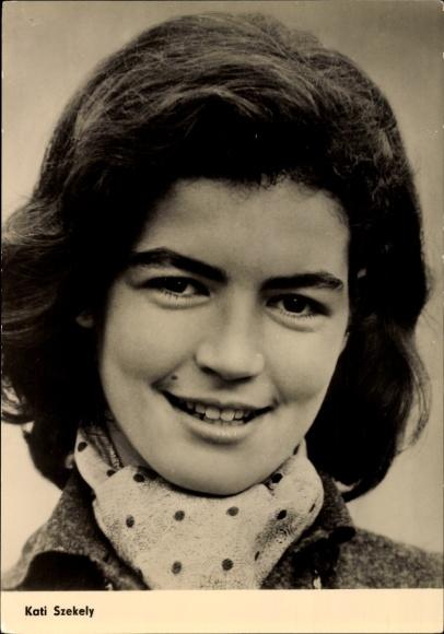 Ak Schauspielerin Kati Szekely, Das Tagebuch der Anne Frank, DEFA Film, Portrait