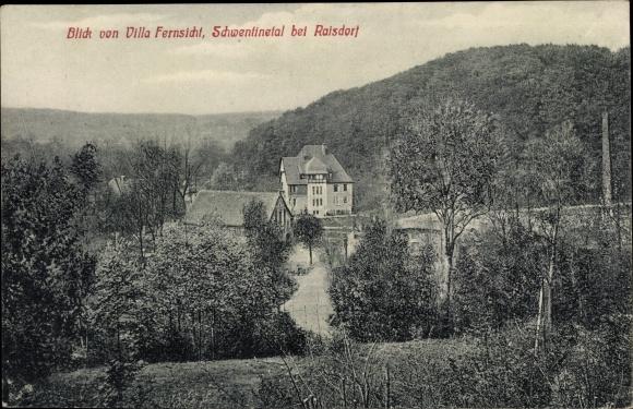 Ak Raisdorf Schwentinental in Schleswig Holstein, Blick von Villa Fernsicht