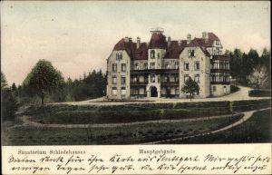 Ak Schledehausen Bissendorf in Niedersachsen, Blick auf Hauptgebäude vom Sanatorium