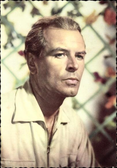 Ak Schauspieler O. W. Fischer, Portrait, Ufa Film